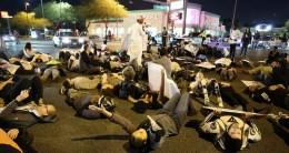 Charleston and Las Vegas Blvd die-in. Photo by Beverly Yuen Thompson
