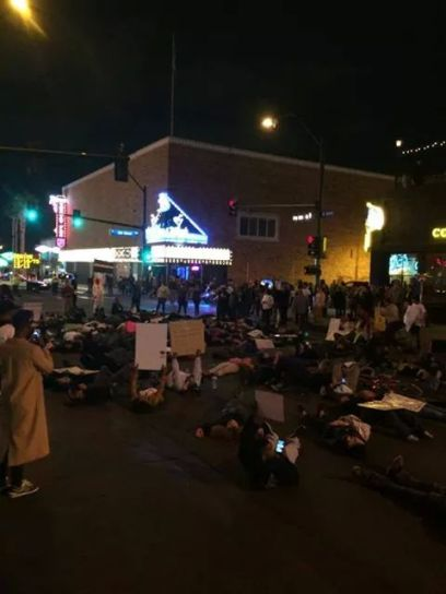"""Fremont East district, has become one of the most well-known places for police brutality, despite its major renovation project and """"gentrification""""; its """"hipster"""" draw"""