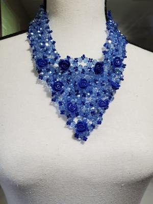 V Shaped Pearl Necklace