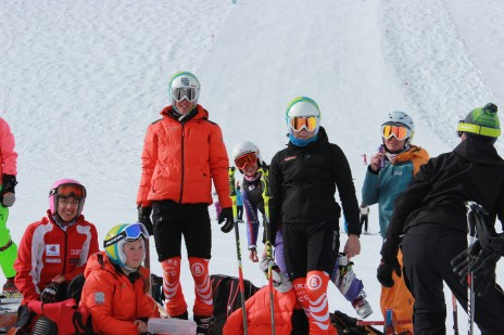 The Gang! Training with the German Telemark Ski Team