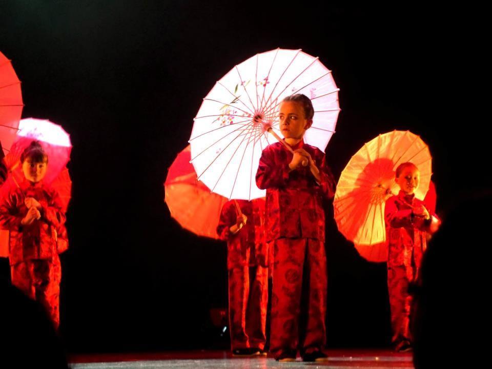 les japonaises on stage...