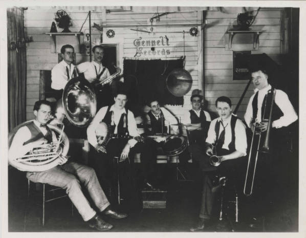 Bix Beiderbecke recording session at Gennett Studio