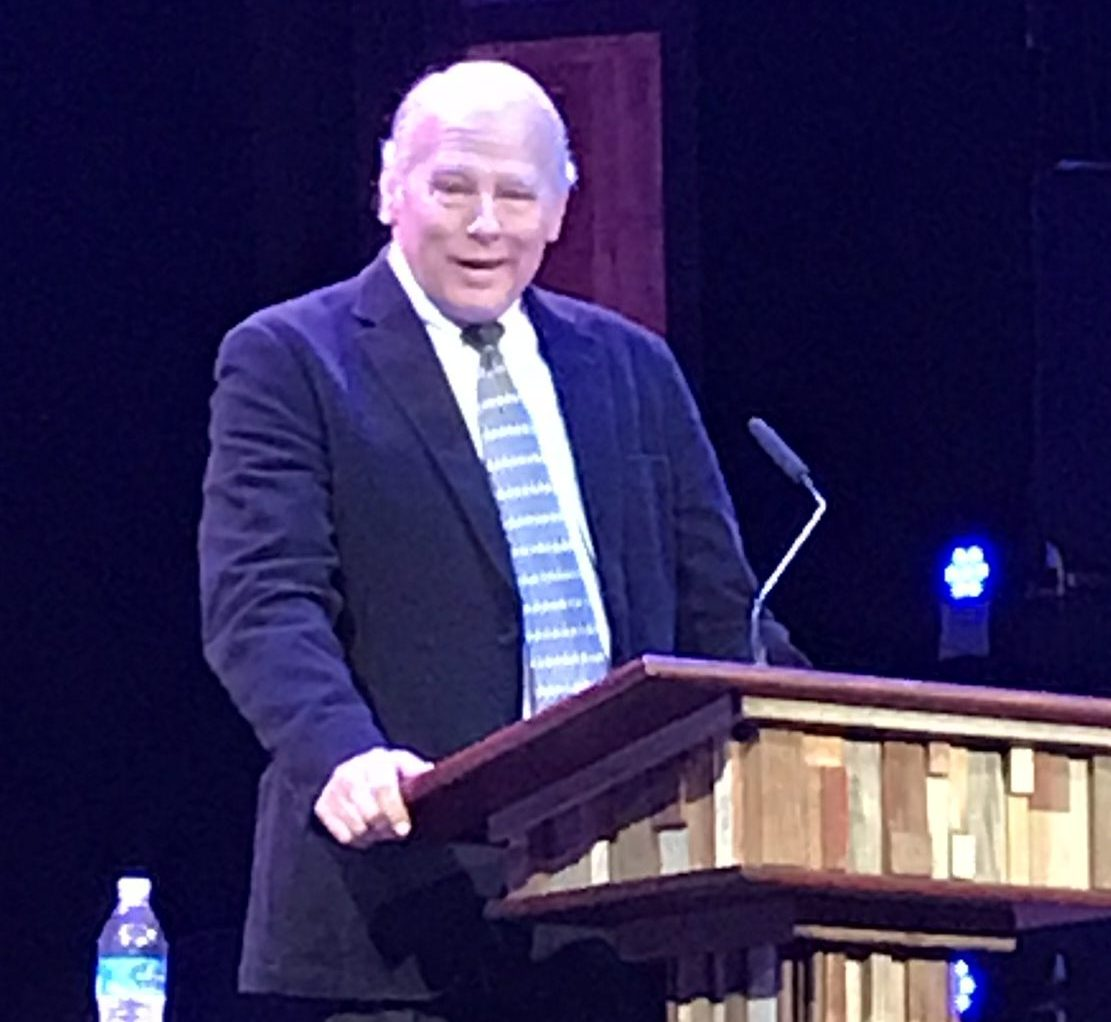 Roger Dill speaking