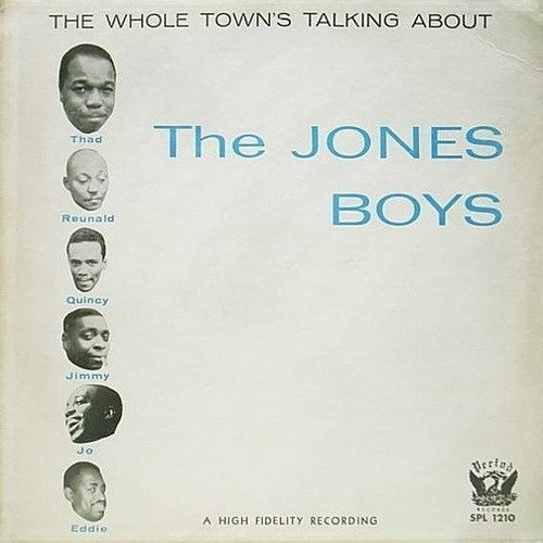 実質、サド・ジョーンズ(Thad Jones)名義のアルバム「The Jones Boys (1957)」
