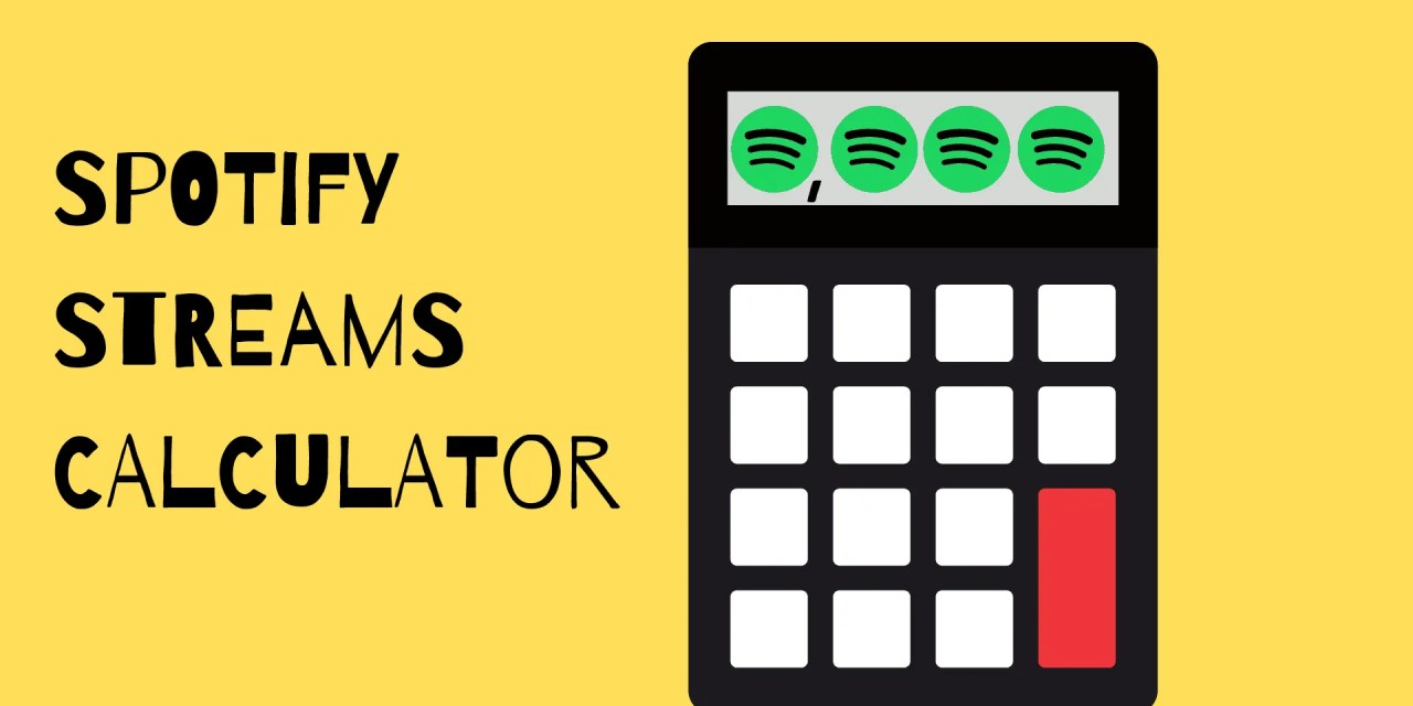 Spotify Calculator