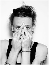 L'attore e cantante inglese Jamie Campbell Bower