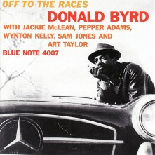 Donald Byrd - Off To The Races front