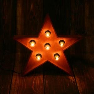 Звезда JazzLight с лампами