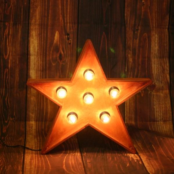 Звезда JazzLight с лампами высотой 50 см
