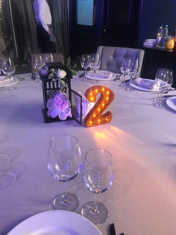 Буквы и цифры Jazzlight со светодиодами 25 см