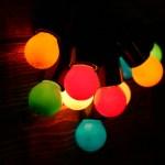 Гирлянда JazzLight с цветными лампами