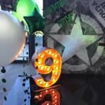Цифры с лампами Jazzlight Детский праздник