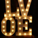 Буквы JazzLight из пластика со светодиодами