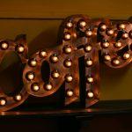 Надпись Coffee из металла Jazzlight