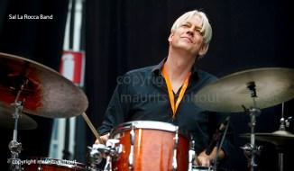 Sal La Rocca band live op Gent Jazz 2013