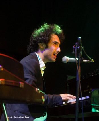 Tigran Hamasyan live op Gent Jazz 2014.