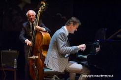 den haag, 10 oktober 2015. Het Peter Beets Trio brengt samen met Fay Claassen een ode aan Rita Reys. Foto: Ruud Jacobs (l) en Peter Beets
