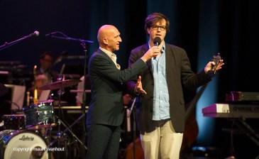 Rotterdam, 24 juni 2016 Uitreiking Edison Awards in Nieuwe Luxor Theater. Foto: Frank Jochemsen van het Nederlands Jazzarchief wint de Edison voor zijn documentaire over Boy Edgar.