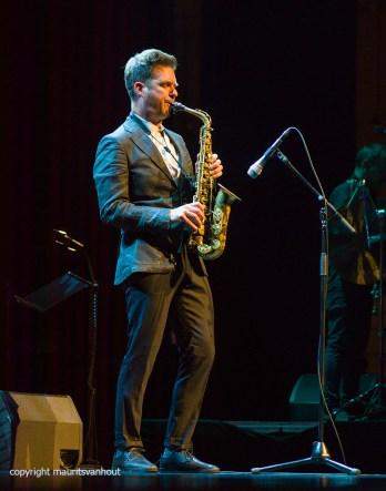 Rotterdam, 30 juni 2017. In het Nieuwe Luxortheater in Rotterdam worden de Jazz/world Edisons uitgereikt. Foto: Bart Wirtz trad op, maar liep de publieksprijs mis.