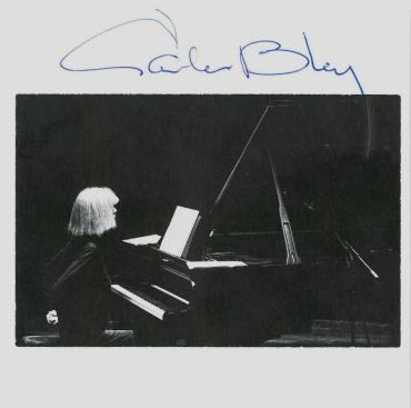 CD Trios - booklet s podpisom Carly Bley