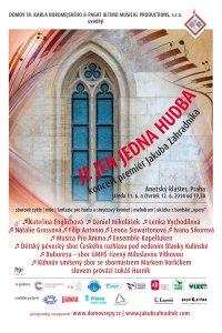 Hudební premiéry Jakuba Zahradníka v Anežském klášteře