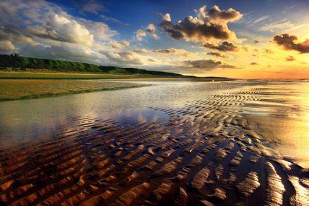 Jurby's bleak and beautiful shore...