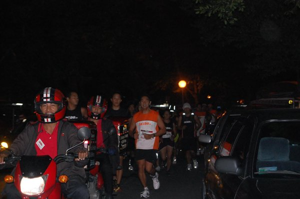 With KR motorcycle escorts