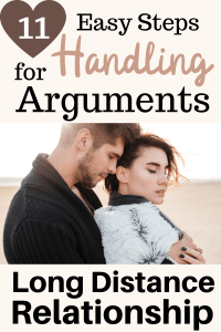 how to argue in a long distance relationship