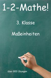1-2-Mathe! - 3. Klasse - Maßeinheiten