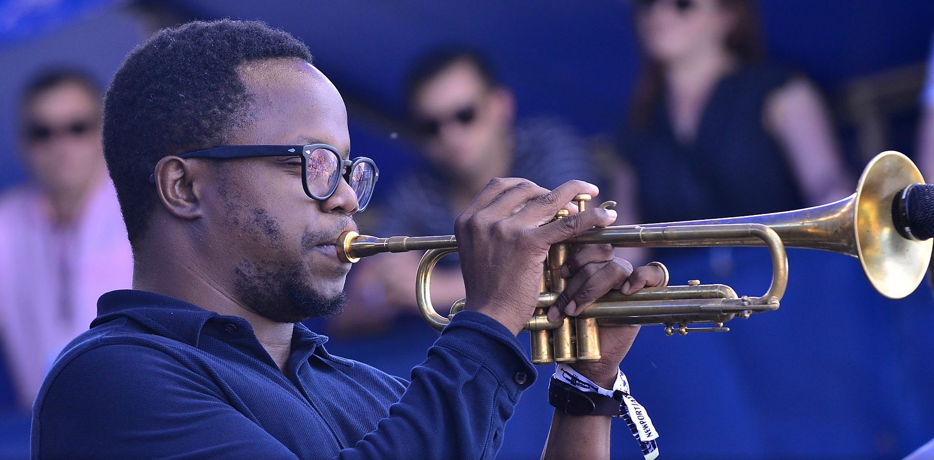 AMBROSE AKINMUSIRE » Leaving space for people …