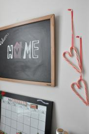 Decoration: Candy Cane Hearts