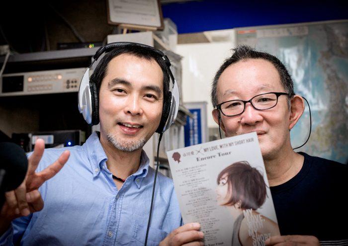 ミュージシャンのトム・イナガワさん(左)&ジャジー