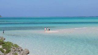 ある夏の宮古島の海