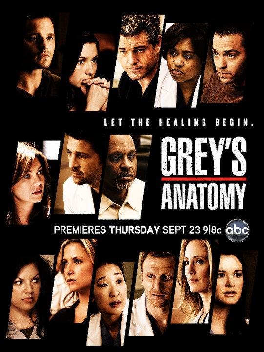 Grey's Anatomy – Season 7 Poster | Jbabzee