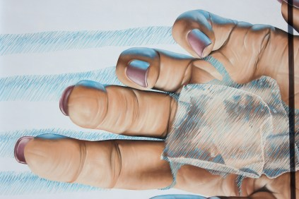 Detail - Fingers/Drips