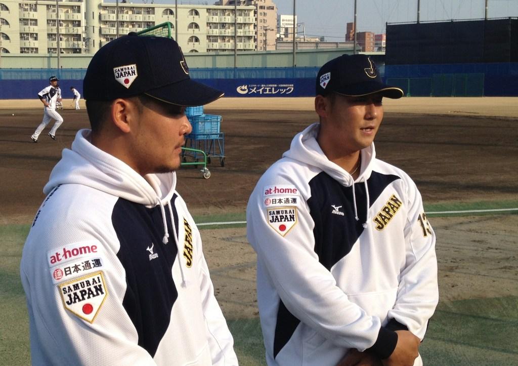 Power hitters Yoshitomo Tsutsugo and Sho Nakata