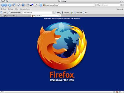 Firefox Vs IE7