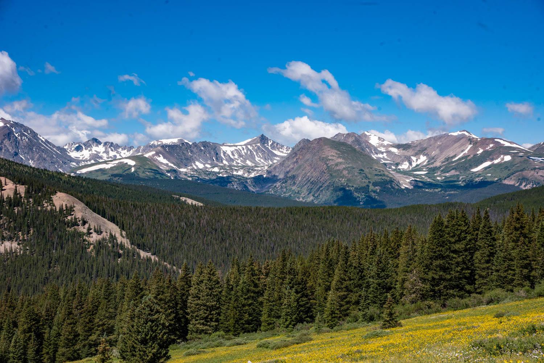 A View from Boreas Pass, Colorado