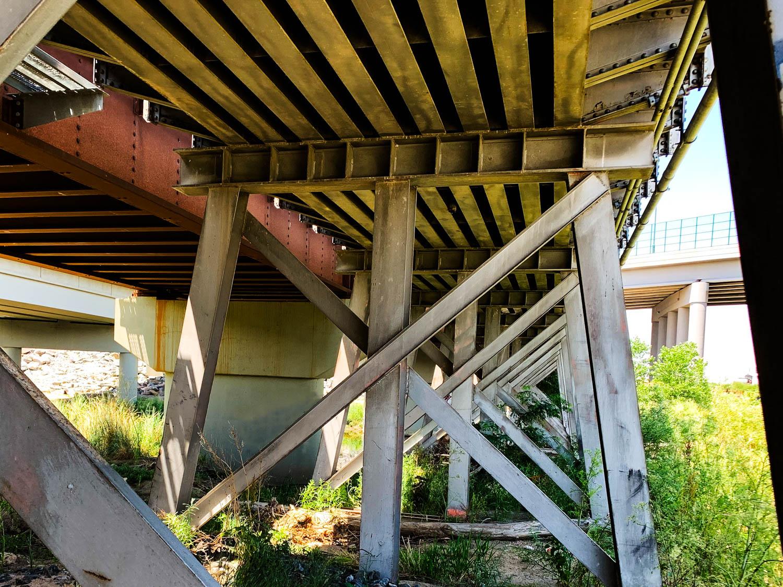 Patterns Under a Bridge