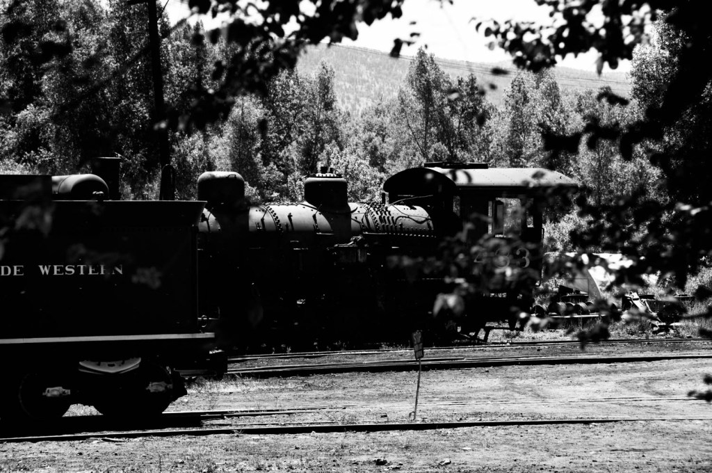 Steam Engine in Station