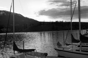 Mountain Marina at Dusk
