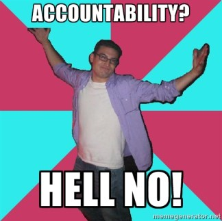 accountability meme