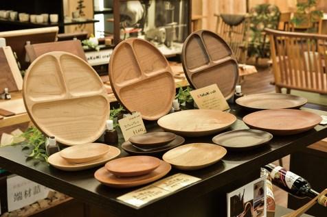 1階フロアに併設される、自社展開ブランドの「takumi craft」