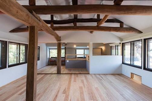 古民家を再生したカフェ&宿泊施設。リノベーションもぜひご相談を