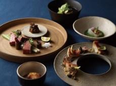 全席個室仕様の「料理屋 水白」の料理の一例。目と舌、そして心身が喜ぶ北海道の旬の滋味をご堪能いただける