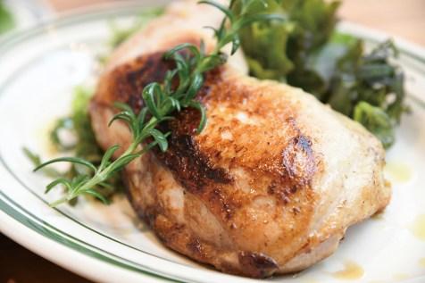 和の工夫を加えた福味鶏の香味ロースト