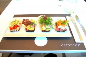 Aamans open-faced sandwiches by Jessica Benavides Canepa