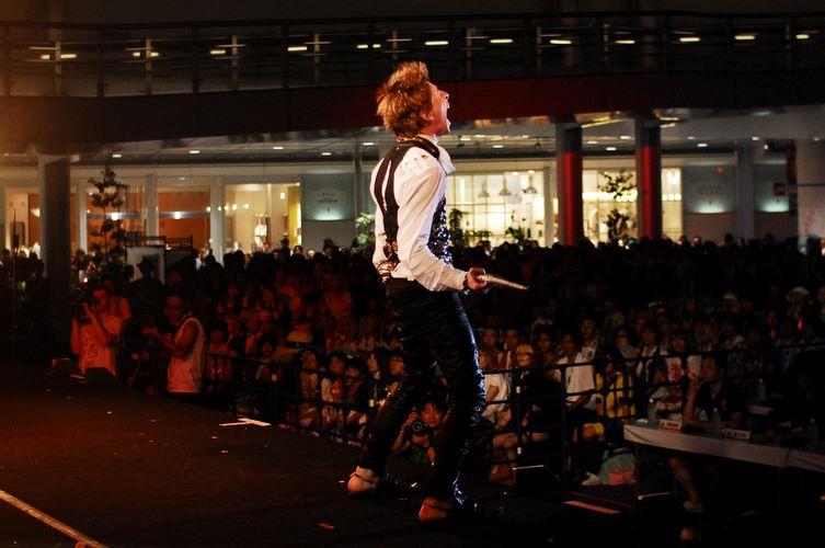 A apresentação foi baseada no game Final Fantasy XII