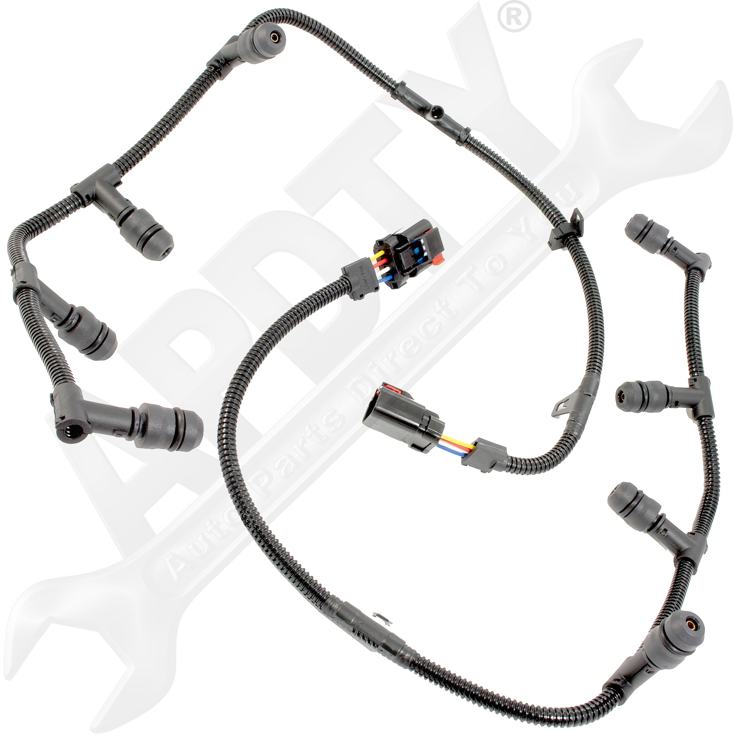 Apdty Glow Plug Wiring Harness Assembly Left