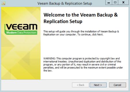 VEEAM_setup